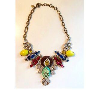 J.Crew bright multicolored necklace